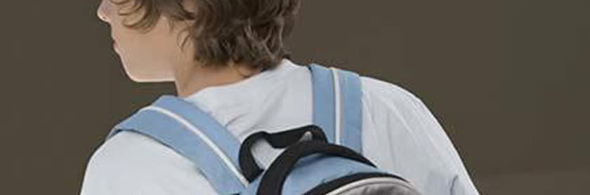 Never trust a teenager with a backpack at a party