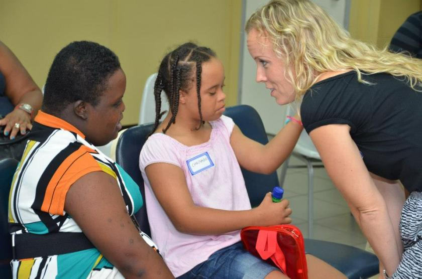 Laura Cotton trains DSFN self advocates